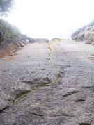 Rock Climbing Photo: Very crimpy route!