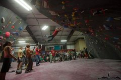 Rock Climbing Photo: Grand Opening Dyno Comp at the Beta