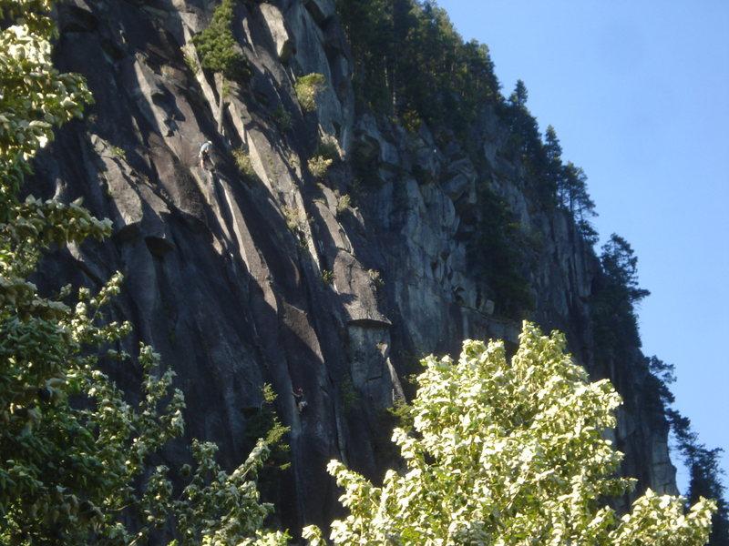 Rock Climbing Photo: Climbers on SC