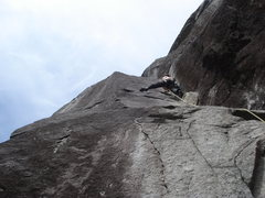 Rock Climbing Photo: The Manimal on Davis/Holland