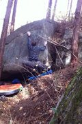 Rock Climbing Photo: Foxhole V7