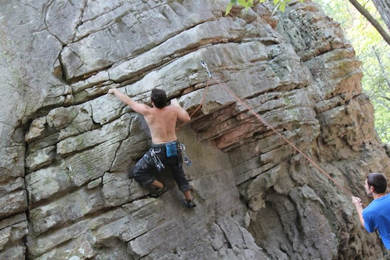 Rock Climbing Photo: Great route but soft for the grade.