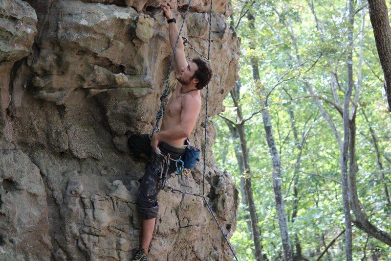 Rock Climbing Photo: cruise this