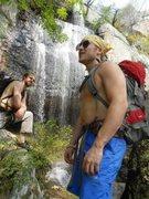 Rock Climbing Photo: Griffin Falls!!