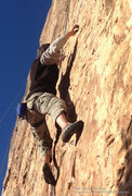 Rock Climbing Photo: Sticky fingers.