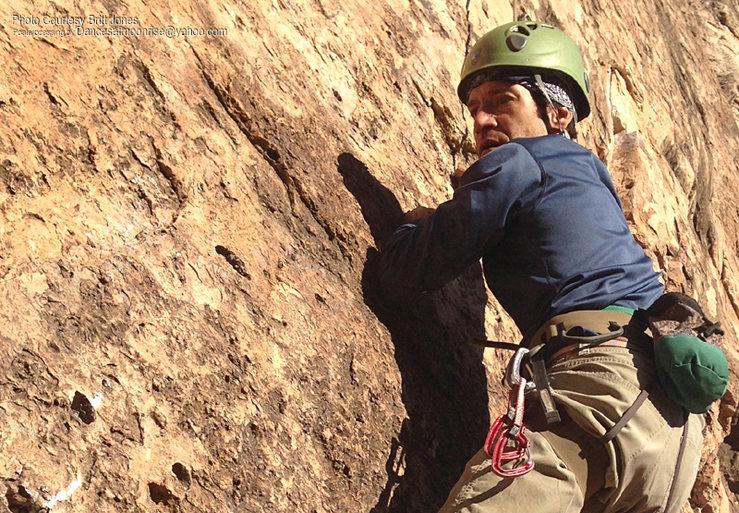 Rock Climbing Photo: Pockets at the hard start.