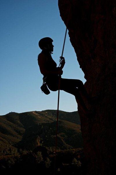 Rock Climbing Photo: Sent my first lead climb