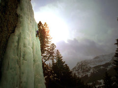 Rock Climbing Photo: Hyalite Ice