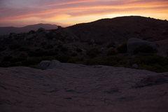 Rock Climbing Photo: Another beautiful sunset
