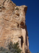 Rock Climbing Photo: looking at p2-p5, p2 Hey Hey variation out of view...