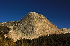 Rock Climbing Photo: Taken around sunset after climbing Regular Route