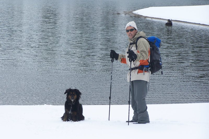 Rock Climbing Photo: Snow Dog