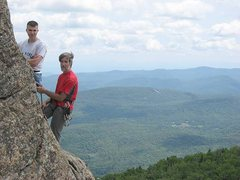 Rock Climbing Photo: With SiL Brian Ferkaluk on Crane's Summit Prows.