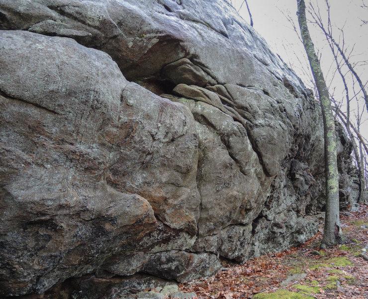 Rock Climbing Photo: First View