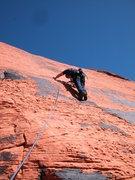 Rock Climbing Photo: Ultraman Red Rocks