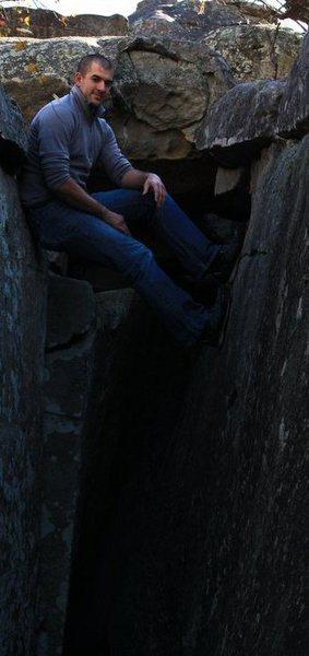 Rock Climbing Photo: At Horse Pens 40