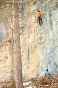 Rock Climbing Photo: hijacked 11c
