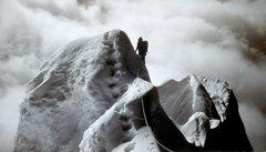 Rock Climbing Photo: Climbing the last gargoyle before the summit