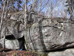 Rock Climbing Photo: Mayan Boulder left, Siberian Boulder right.