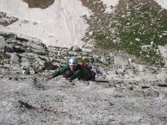 Rock Climbing Photo: True Grit - Last Pitch Lowe Rte.