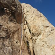 Rock Climbing Photo: Corner on Pitch 1