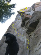 Rock Climbing Photo: Fun line!