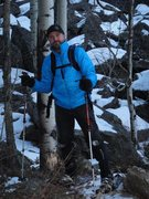 Rock Climbing Photo: Snowshoeing In The Big Horns