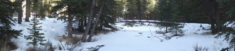 Rock Climbing Photo: Frozen Bridge