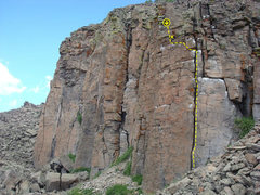 Rock Climbing Photo: Easy line