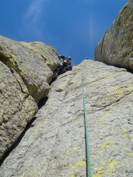 Rock Climbing Photo: Bon Homme