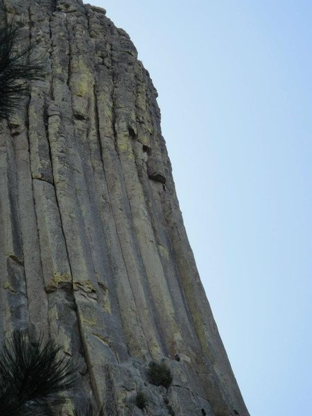 Rock Climbing Photo: Love this pic gives a nice scale