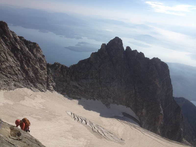 Rock Climbing Photo: Gorgeous views on high on the CMC route