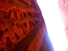 Rock Climbing Photo: Really great and photogenic route.. A little sandy...