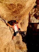 Rock Climbing Photo: BB cruises under unbelievable weather on a late wi...