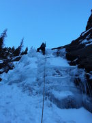 Rock Climbing Photo: Sunless in December.