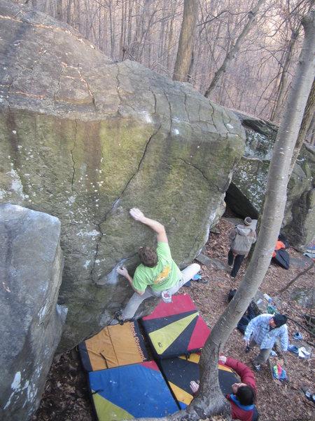 Rock Climbing Photo: Islander