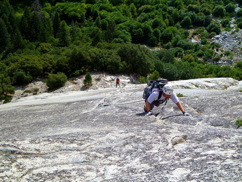 Shawn and Scott on the last pitch of the Grack on an early but hot morning. <br> <br> September 2011