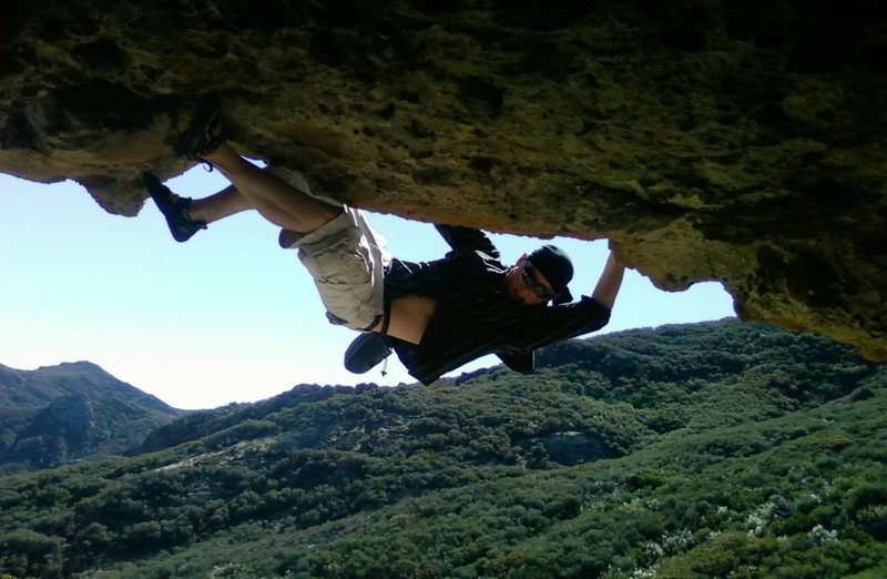 Rock Climbing Photo: I like climbing.