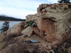 Rock Climbing Photo: Carter Lake is beautiful....