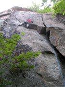 Rock Climbing Photo: FA time!