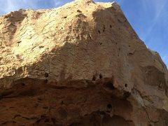 Rock Climbing Photo: Caveman boulder at Potter's Point. Pretzel Logic t...