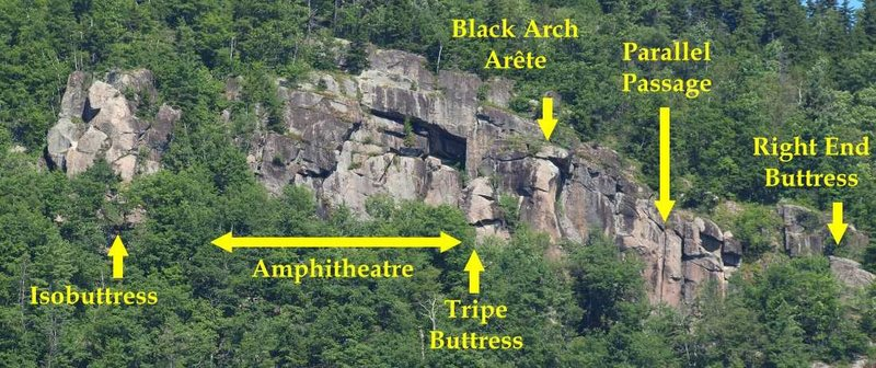 Rock Climbing Photo: BAW overview.