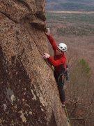 Rock Climbing Photo: Jamie McNeill on the FA