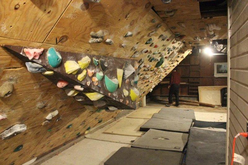 Rock Climbing Photo: the wall 4