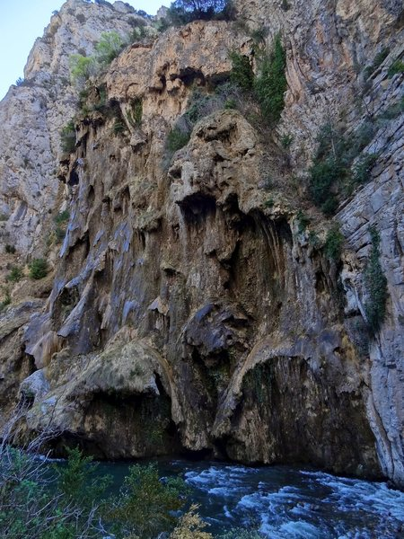 Rock Climbing Photo: The impressive L'Argenteria rock formation across ...