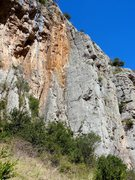 Rock Climbing Photo: The obvious corner between the orange rock and the...