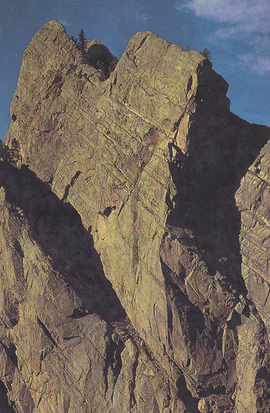 Rock Climbing Photo: The Naked Edge