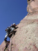 Rock Climbing Photo: P2 of The Naked Edge.