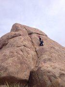 Rock Climbing Photo: Soufflant follows the obvious crack. Photo John Wa...