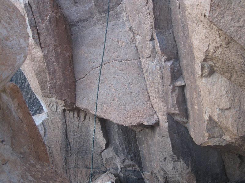 Rock Climbing Photo: Start holds to Devils Ice Box
